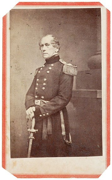 369: Civil War, CDV of General John Wool by Anthony
