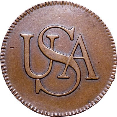 971: Outstanding High Quality Authentic USA Bar Copper