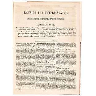 1861-1862 LAWS OF THE UNITED STATES Public ACTS