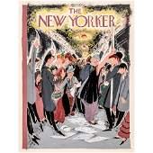 THE NEW YORKER Original Cover Illustration Art