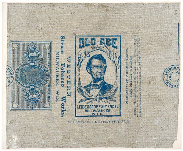 Set of Eight Tobacco Tinfoil Revenue Stamps