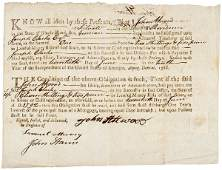579: Colonial Currency, RI, June 20, 1786, Mortgage For