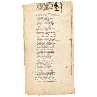 War of 1812 American Poem: The Awkward Recruit