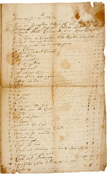 2008: NY Governor GEORGE CLARKE Signed Document 1728