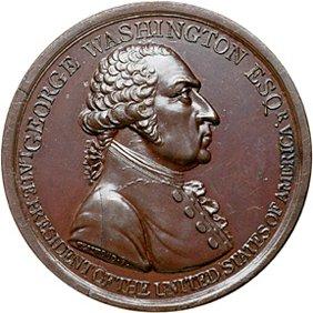 2140: 1799 Washington Eulogistic Medal, Bronze