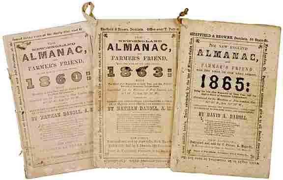 Civil War-Era Almanac Terrific Advertisements