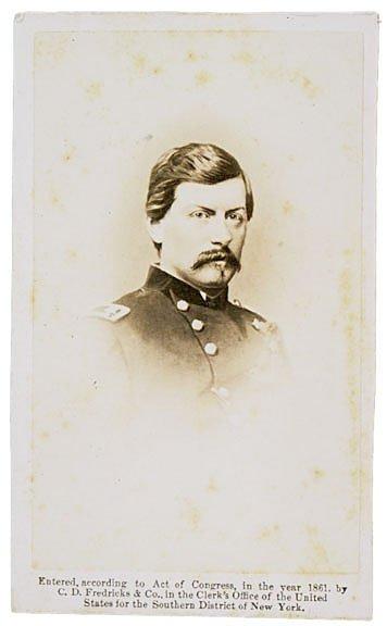 2200: CDV of Union General George Brinton McClellan