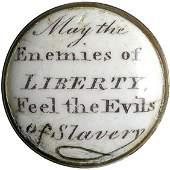 2216: c.1775 Rare Anti-Slavery Battersea Box