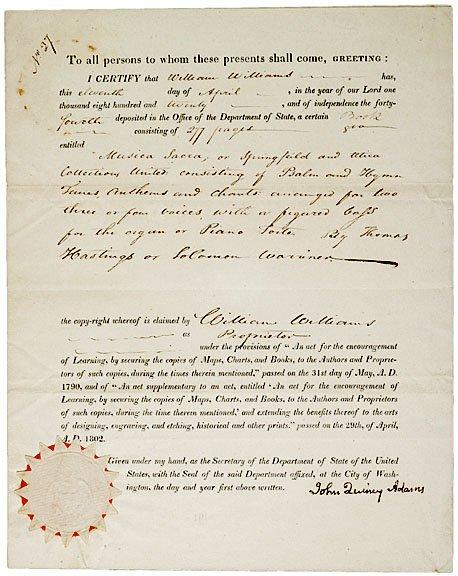 5: JOHN QUINCY ADAMS Signed Document