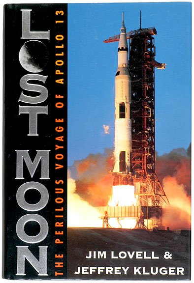 11: (ASTRONAUT), JAMES LOVELL, Book Signed 1994