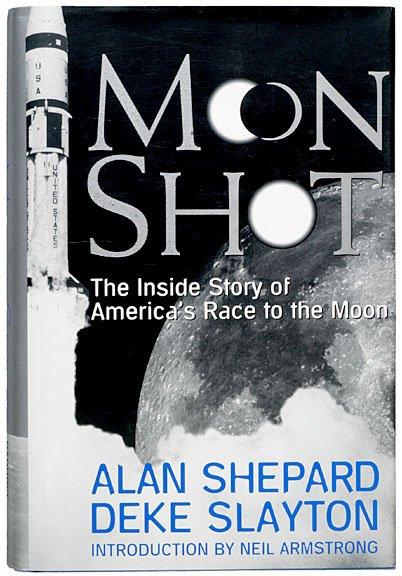 12: (ASTRONAUT), ALAN SHEPARD, Book Signed 1994