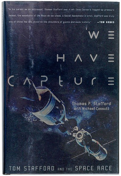14: (ASTRONAUT), THOMAS STAFFORD, Book Signed 2002