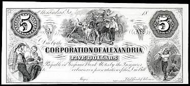 1078: Obsolete Currency, Alexandria, VA, Corporation, $