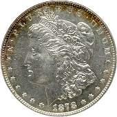1332: 1878 Morgan Dollar, ANACS graded MS-63 PL
