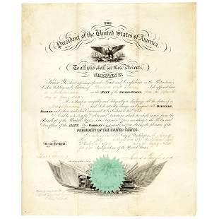 1860 JAMES BUCHANAN Appoints Winfield S. Schley!