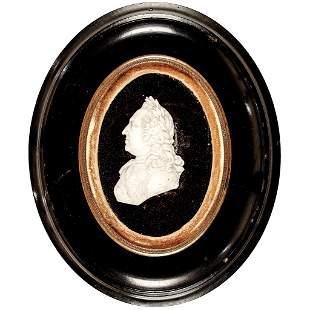 Hand-Carved Marble George Washington Laureate Bust