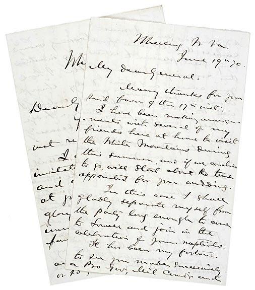 2002: Two Civil War Letters - Gen. A.Ames