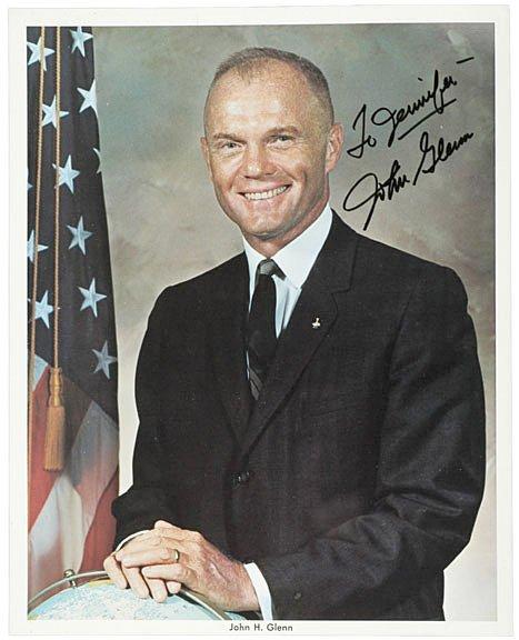 2006: Astronaut John Glenn Signed Photo