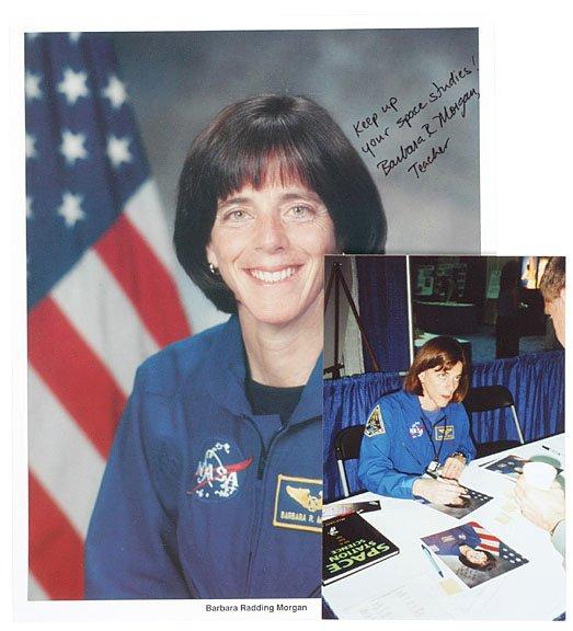 2011: Astronaut BARBARA MORGAN Signed Picture