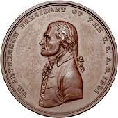2274: 1801 Jefferson Indian Peace Medal
