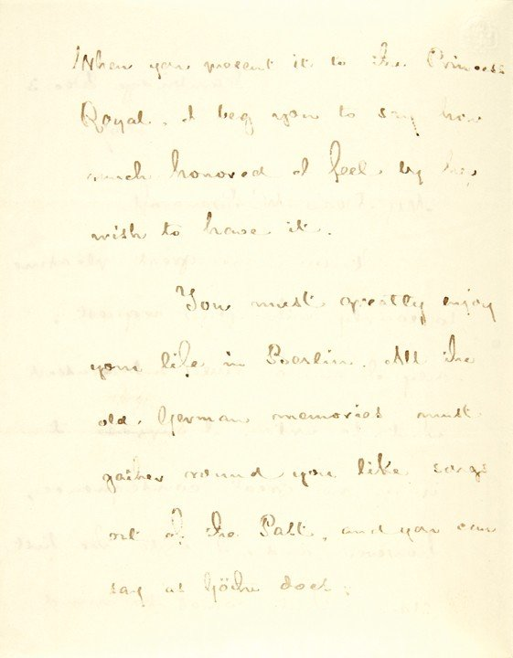14: HENRY WADSWORTH LONGFELLOW, Poem+Letter Signed - 2