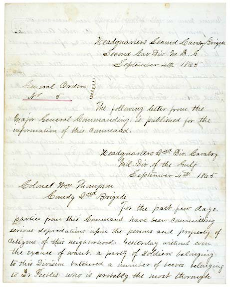 2016: GEORGE A. CUSTER, Document Secretarially Signed