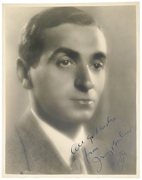 23: IRVING BERLIN, Photograph Signed and Inscribed