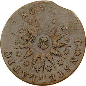 1173: Colonial Coinage, 1785 Nova Constellatio Copper