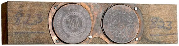 1175: Colonial Coinage, Nova Constellatio Print Block