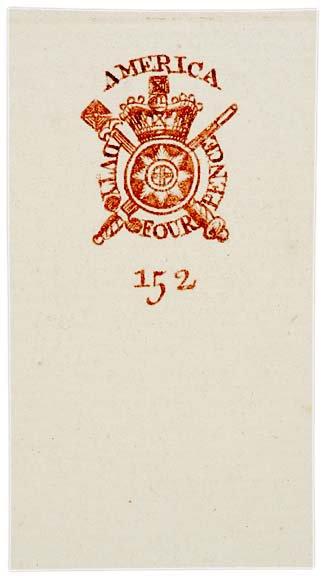 3018: 1765, Embossed Revenue Stamped Paper