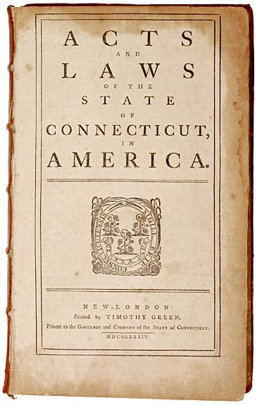 3023: Early Connecticut Divorce Law, 1784