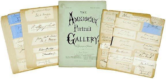 Lot 14: Over 100 Civil War Era Autographs