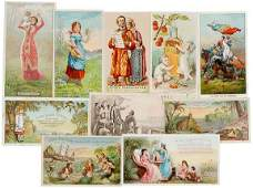 Lot 825: Encased Postage Ayers 10 Cards