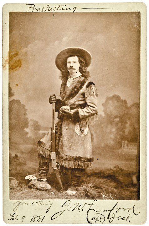 7: 1881 Captain Jack Crawford Signed Photograph
