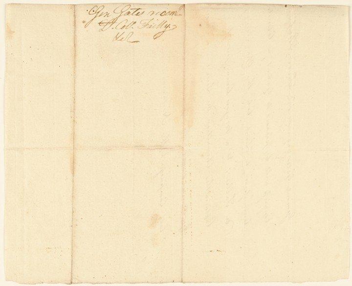 13: HORATIO LLOYD GATES, Autograph Document Signed - 2