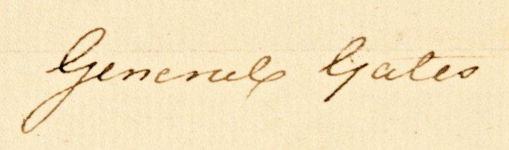13: HORATIO LLOYD GATES, Autograph Document Signed - 3