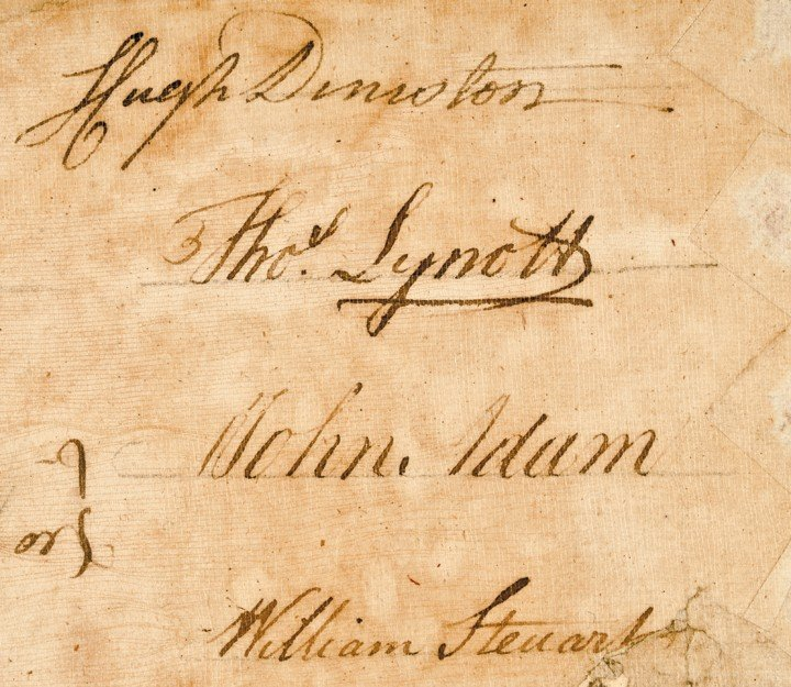 21: WILLIAM JOHNSON, 1769 Manuscript Document Signed - 6