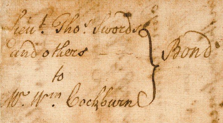 21: WILLIAM JOHNSON, 1769 Manuscript Document Signed - 7