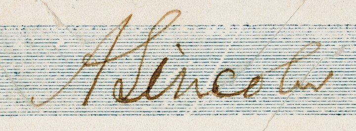 26: ABRAHAM LINCOLN, Signed Personal Check - 3