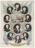 673: 1846, James K. Polk Inaugural Print:
