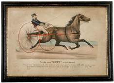 678 1871 Currier  Ives Handcolored Print