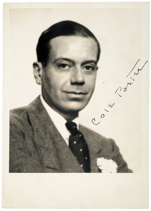 COLE PORTER Signed Photograph