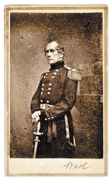 195: Photograph of John Wool Civil War Union General