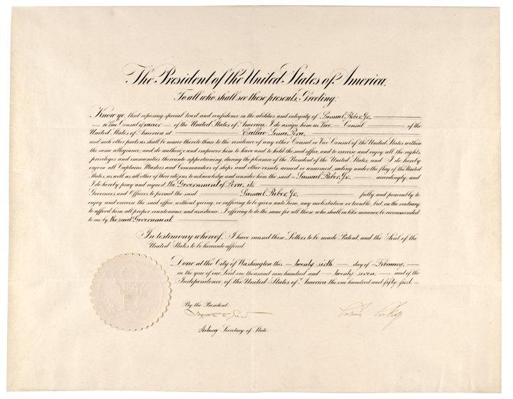 JOHN CALVIN COOLIDGE, Document Signed as President 1927