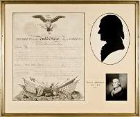 THOMAS JEFFERSON, 1809-Dated, Document Signed