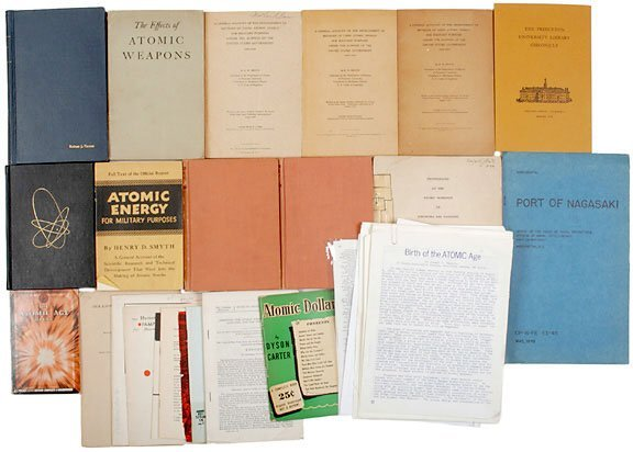 Lot   11: Atomic Bomb Scientific Publications