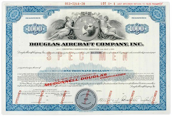 Lot   14: Aviation-Related Stock Certificates