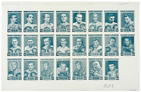 Lot   24: 1923 Images of Boxing Champions