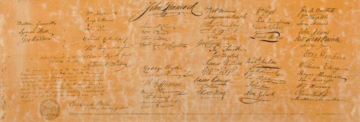Benjamin Owen Tyler: DECLARATION OF INDEPENDENCE - 3