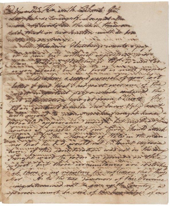 (PINCKNEY'S TREATY) Transfer of Natchez to the US - 3